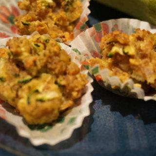 Zucchini Hackfleisch Muffins von breifreibaby
