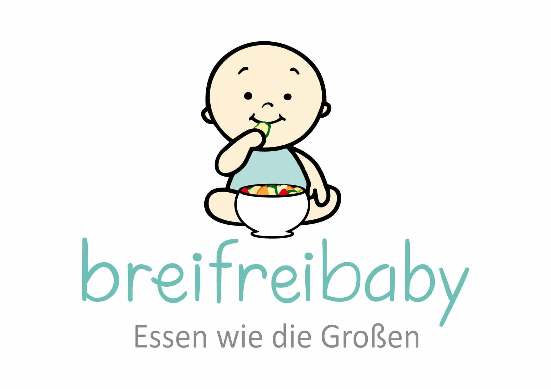 breifrei Blog Baby mit Gemüsestick in der Hand und Schale mit Gemüse. Breifreibaby Essen wie die Großen