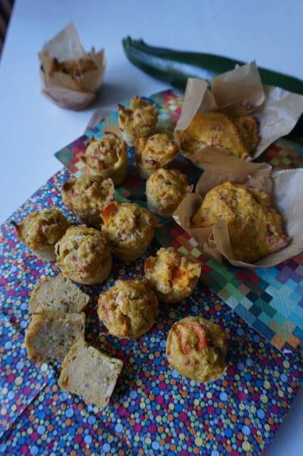 Minimuffins Zucchini-Kürbis von breifreibaby