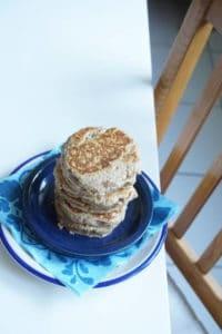 vegane Pancakes für Babys und Kleinkinder