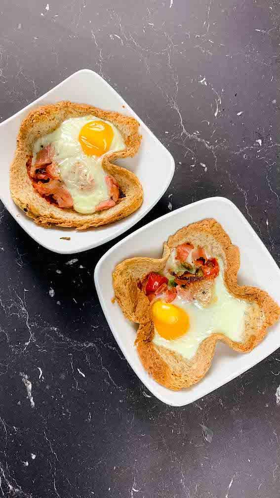 Herzhafte Frühstücksmuffins