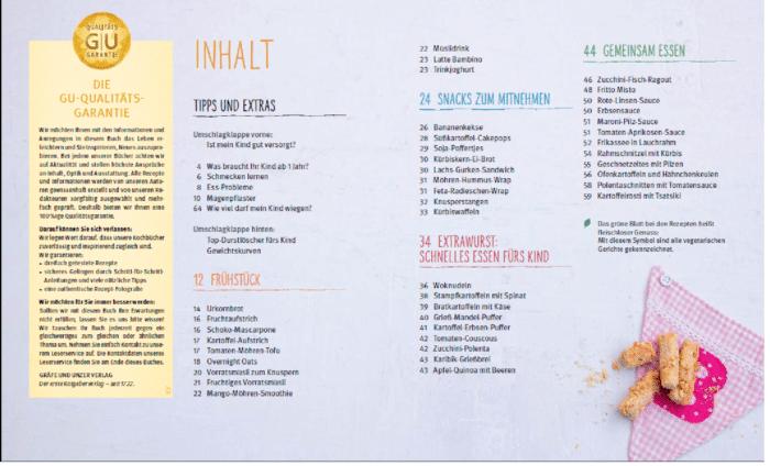 INhaltsverzeichnis Kochen für Kleinkinder_breifreibaby