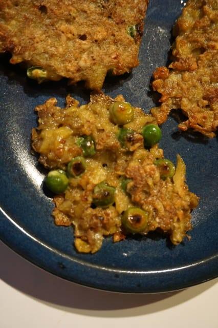 Kochen für Kinder - Kartoffel-Erbsen-Puffer von breifreibaby