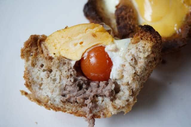 herzhafte Frühstücksmuffins von breifreibaby