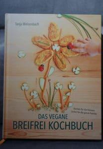 veganes breifrei Kochbuch, eine Rezension von breifreibaby