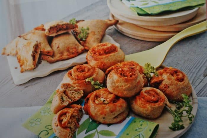 Vegane Calzone aus dem Kochbuch_breifreibaby