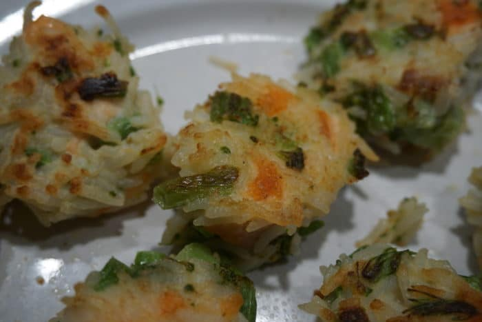 Reisbällchen mit Lachs und Brokkoli von breifreibaby