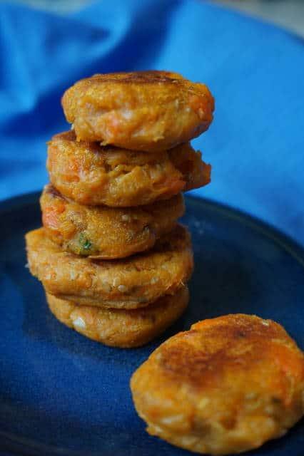 Süßkartoffelbratlinge von breifreibaby