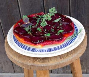 Tarte mit Rote Bete - ein veganes Rezept für die ganze Familie