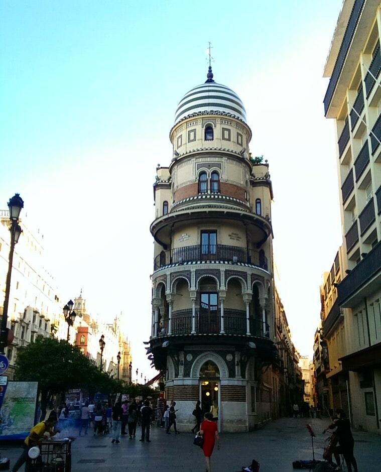 Urlaub mit Baby in Sevilla