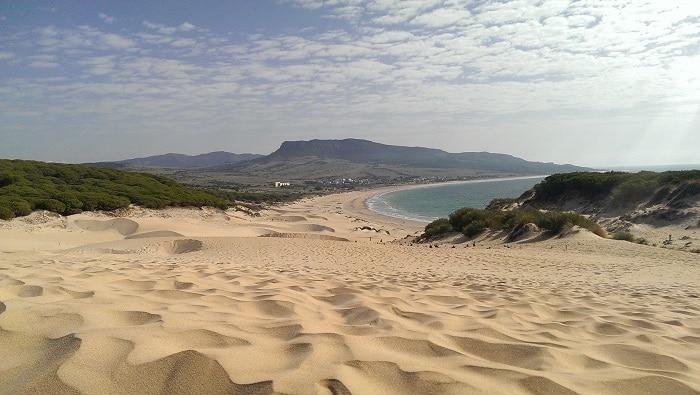 Urlaub mit Baby Andalusien Duna de Bolonia