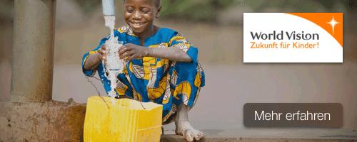 Kinderpatenschaft mit World Vision verschenken