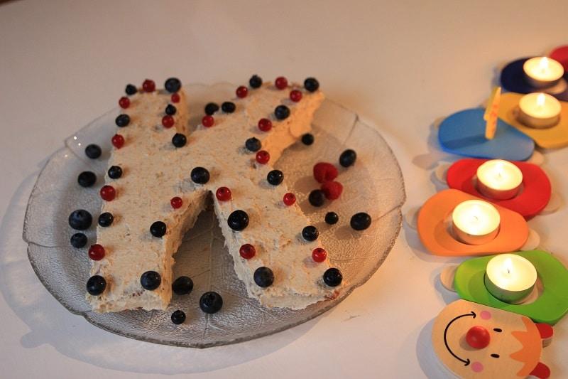 zuckerfreier Karottenkuchen für den ersten Geburtstag