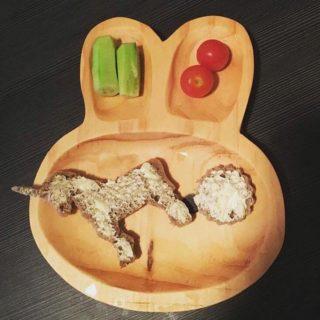 Brotausstecher - Brot für die Brotbox für den Kindergarten