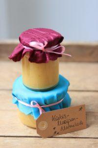 selbstgemachte Geschenke aus der Küche - Kürbis-Marzipan-Marmelade Rezept