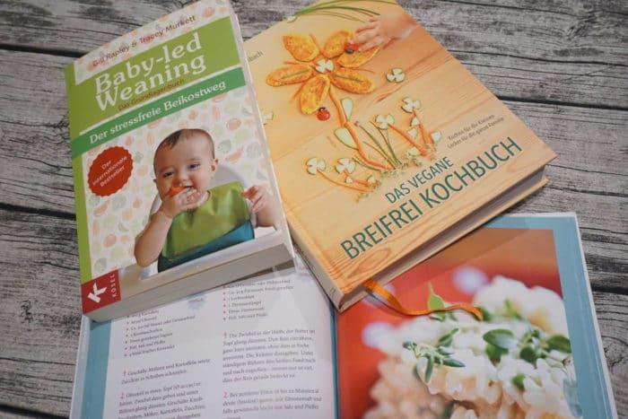 BLW Buch als Infoquelle und Inspiration für leckere Rezepte von breifreibaby