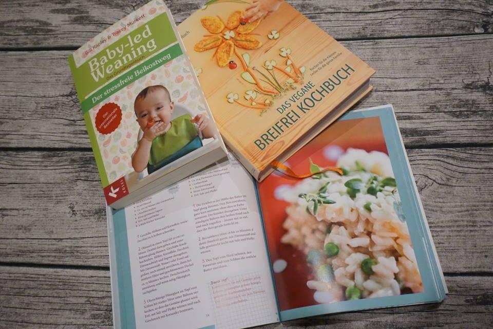 BLW Buch mit Grundlagen und Rezepten - eine Übersicht der Bücher zum Thema breifrei und baby-led weaning