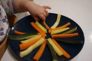 Einsteiger Gemüse baby-led weaning