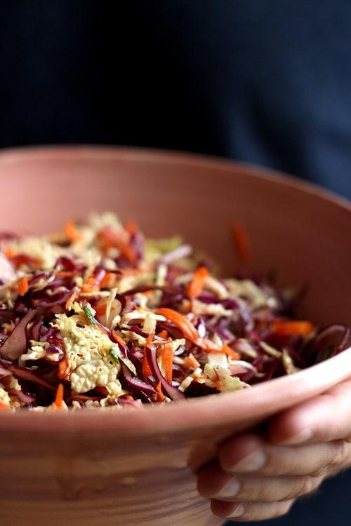 asiatischer Krautsalat