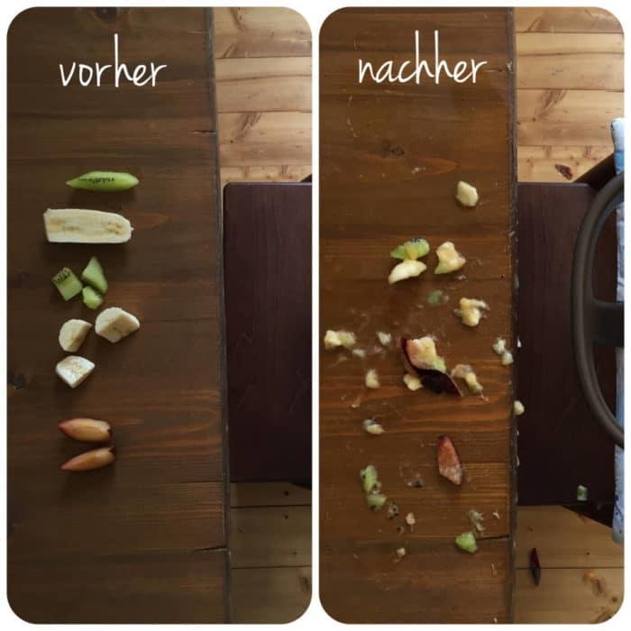 breifreie Beikost - vorher und nachher - breifreibaby