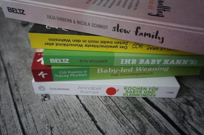 Slow Family und andere tolle Bücher, die breifreibaby empfiehlt