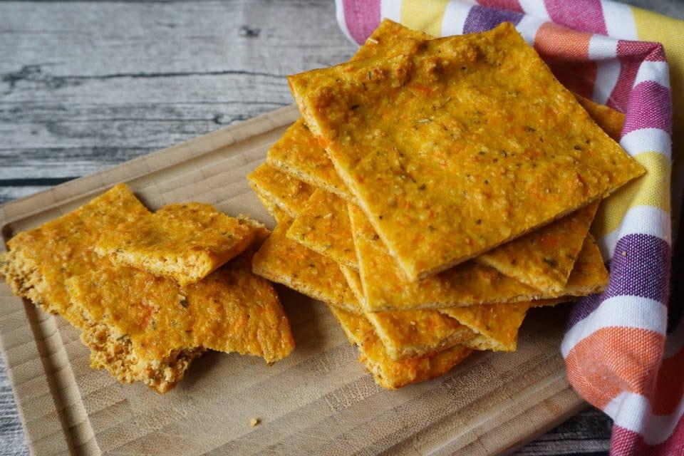 Möhren-Flat-Bread für breifrei und baby-led weaning babys