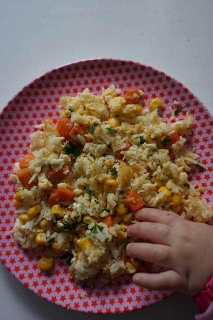 baby-led weaning - das Baby isst dass, was die Großen auch essen