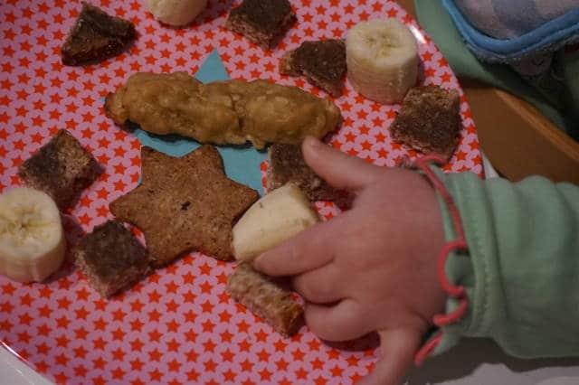 baby-led weaning, so kann ein Teller für den kleinen Esser aussehen