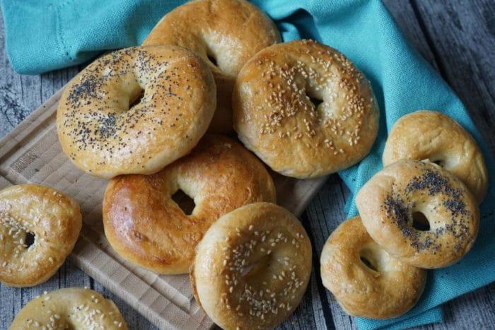 Bagels für baby-led weaning Esser von breifreibaby