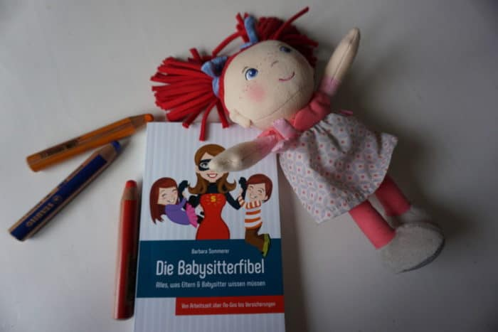 Die Babysitterfibel - eine Buchvorstellung von breifreibaby