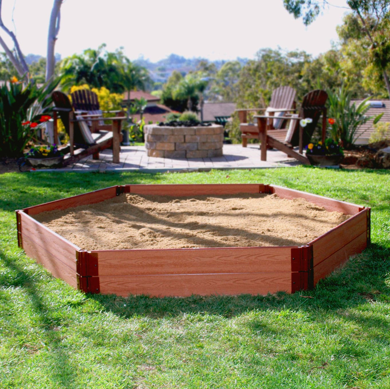 Ein Sandkasten für unseren Saisongarten - eBay Home & Garden machts möglich