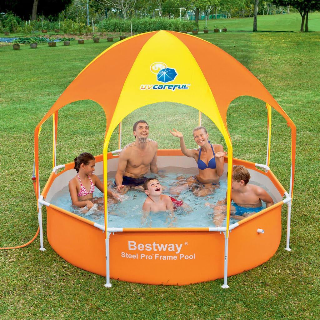 Ein Pool für unseren Saisongarten - eBay Home & Garden machts möglich