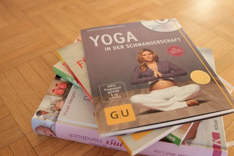 Buchrezension Yoga in der Schwangerschaft
