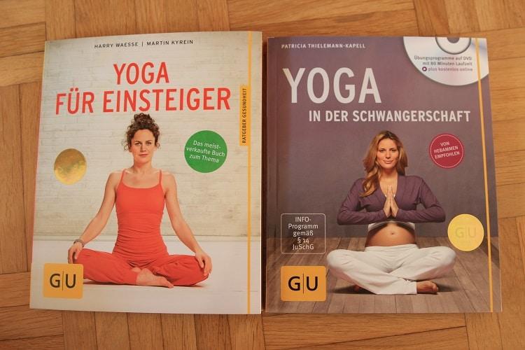Yoga in der Schwangerschaft und Yoga für Anfänger - Buchrezensionen