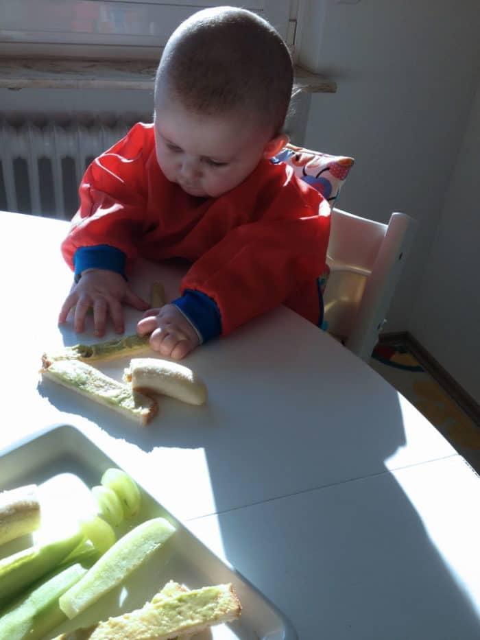 Beikost ohne Füttern - breifreies Essen