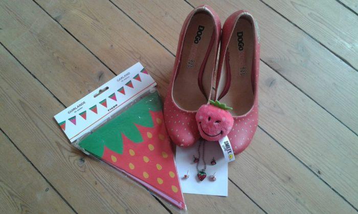 Erdbeeren ohen Ende! Die Erdbeersammlung von Sandra Schindler