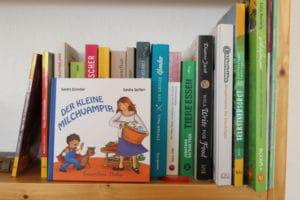 Der kleine Milchvampir – Autorin Sandra Schindler über das Abstillen, Hausgeburten und vegane Ernährung