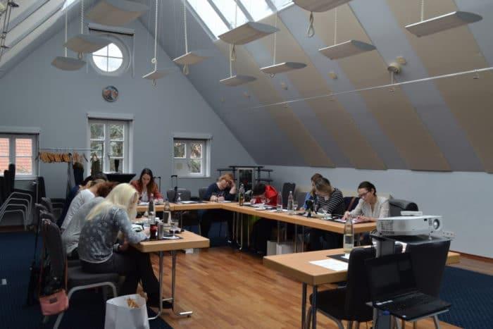 Elternblogger Treffen Workshop mit Mareike von Mami Startup (Bild von ihr)