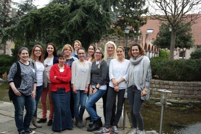 Elternblogger Treffen Gruppenbild von dreieckchen.de