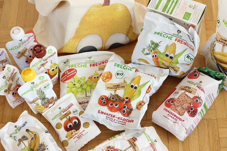 Snacks von Freche Freunde - super für Babys und Kleinkinder