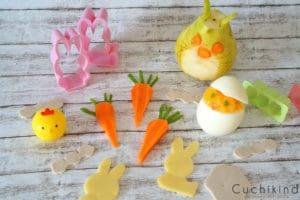 süße und gesunde Ostersnacks für kleine Esser