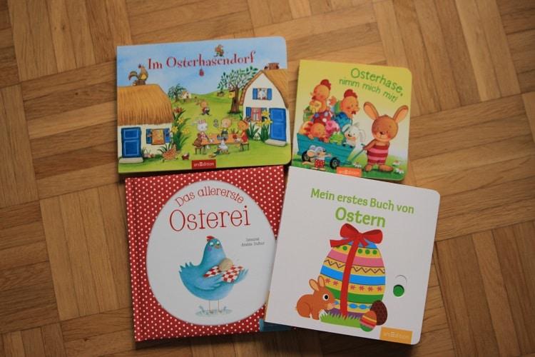 Die besten Kinderbücher zum Thema Ostern - wie stellen sie vor und verlosen sie
