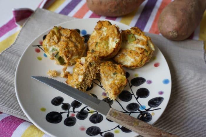 Muffins für breifrei Babys mit Süßkartoffeln