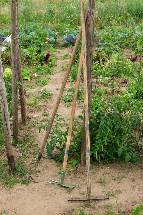 Saisongarten mit Kindern - das sind unsere Gartengeräte