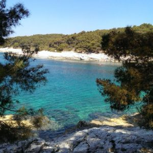 Urlaub mit Kleinkind in Kroatien, z.B. auf Mali Losinj in der Cikat Bay