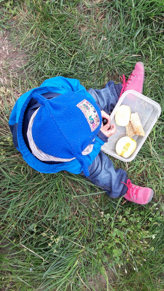 Picknick auf dem Hofgut Oberfeld am Ostersonntag