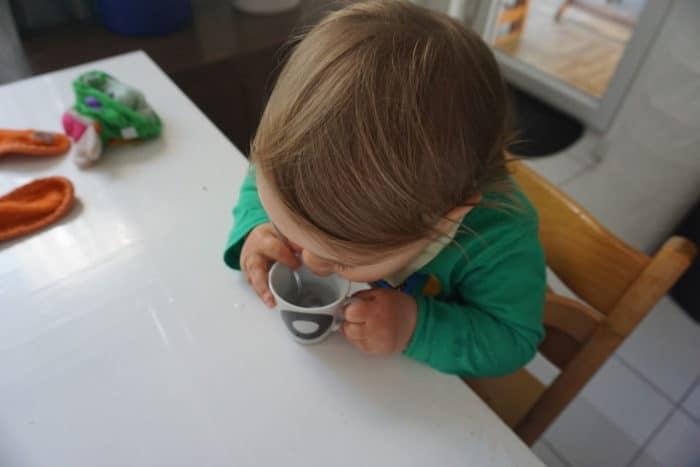 Espresso als Nachtisch für mein breifreibaby
