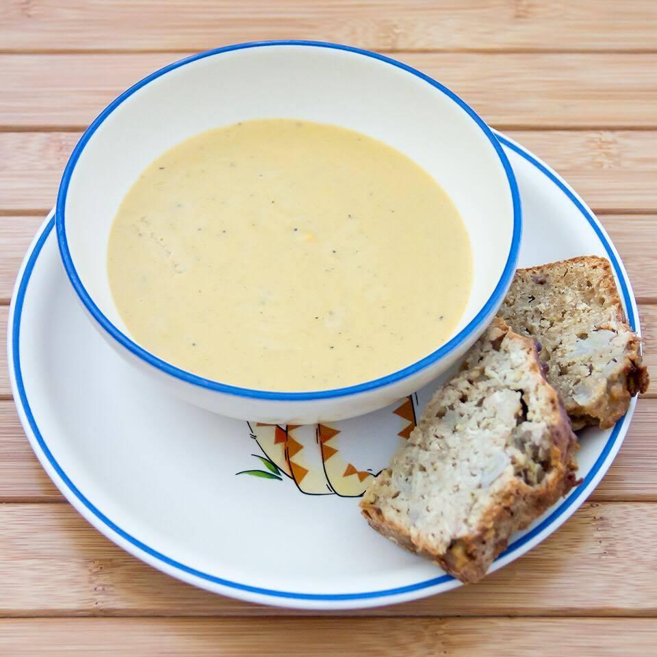 Babybrei ist nicht Baby-led weaning - Suppe fürs Baby