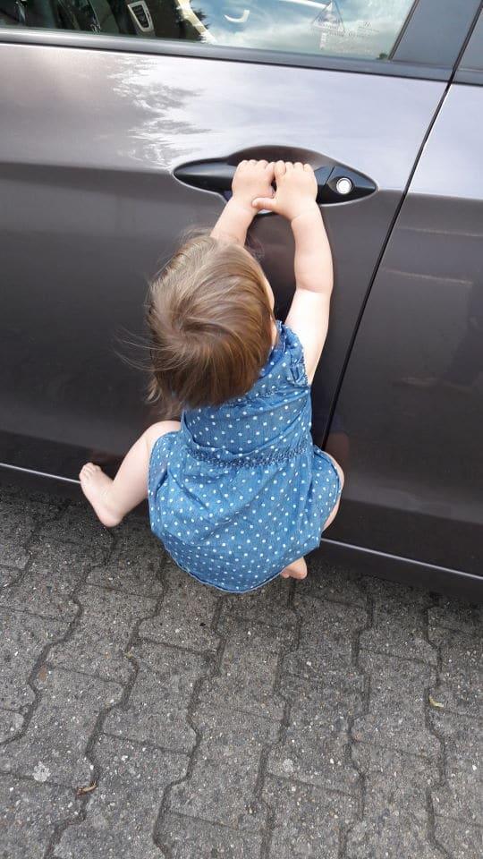 Akrobatik am Auto