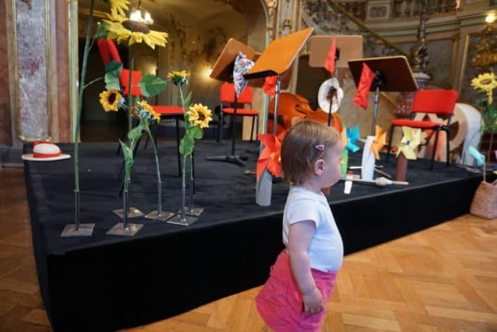 Bühnenbild: Babykonzert Wiesbaden